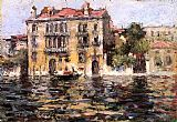 Venice paintings - After the Rain by William Merritt Chase