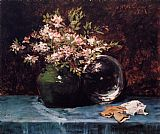 William Merritt Chase Azaleas painting