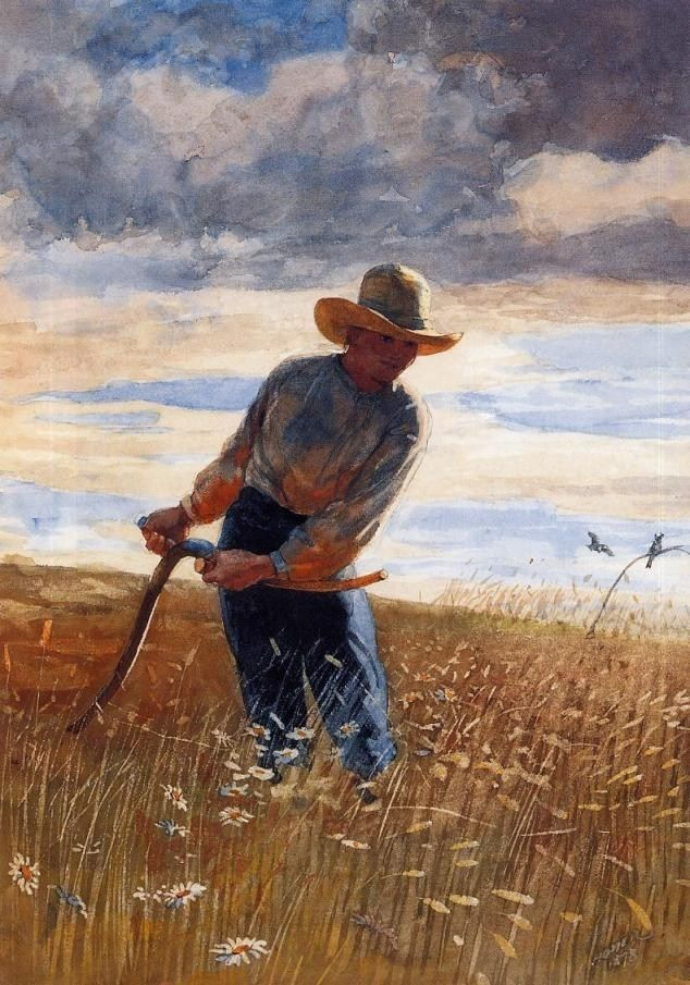 Winslow Homer Homer The Reaper