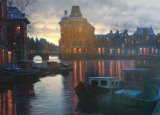 Alexei Butirskiy Canal at Dusk painting