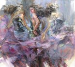 Anna Razumovskaya Timeless Journey painting