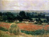 Claude Monet Haystack At Giverny painting