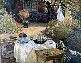 Claude Monet Monet The Luncheon painting