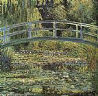 Claude Monet Monet The Waterlily Pond painting
