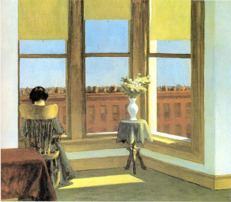 Edward Hopper Room in Brooklyn