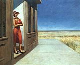 Edward Hopper Carolina Morning painting