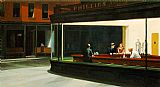 2011 Framed Prints - Nighthawks