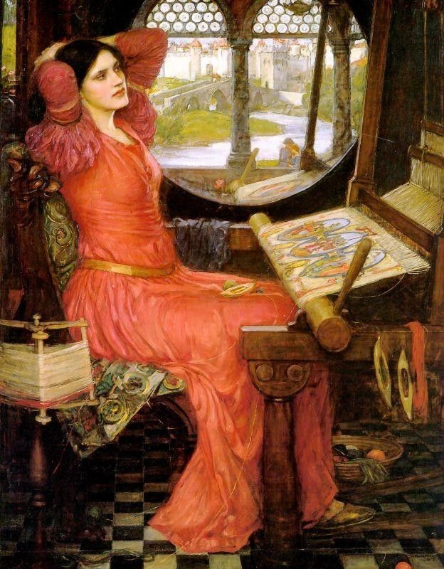John William Waterhouse said the Lady of Shalott