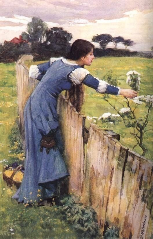 John William Waterhouse waterhouse The Flower Picker
