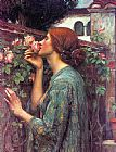 John William Waterhouse My Sweet Rose painting