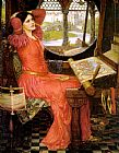 John William Waterhouse said the Lady of Shalott painting