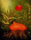 Vladimir Kush Hearts for Future Generations painting